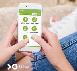 TITSA-web móvil